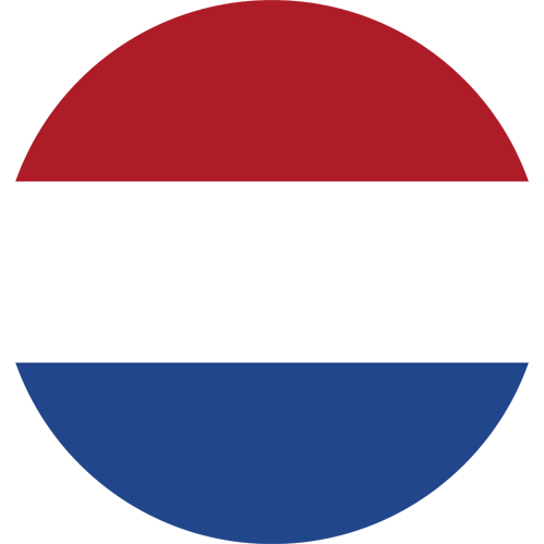 netherlands flag round small